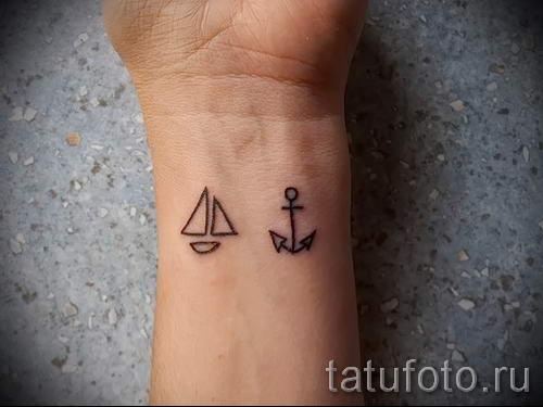 Простые татуировки на руке фото
