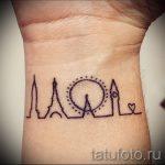 простые тату узоры - фото готовой татуировки 02092016 1330 tatufoto.ru