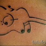 простые тату узоры - фото готовой татуировки 02092016 5334 tatufoto.ru
