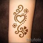 простые тату хной - фото пример готовой татуировки 02092016 1336 tatufoto.ru