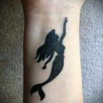 простые черные тату - фото готовой татуировки 02092016 1399 tatufoto.ru