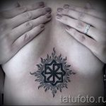 славянские-тату-валькирия-символ-фото-вариант-9034
