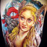 тату-валькириянак-вариант-готовой-татуировки-фото-22066