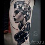 тату-валькирия-знак-фото-вариант-готовой-татуировки-4039