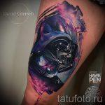 тату космос - фото готовой татуировки 24068 tatufoto.ru