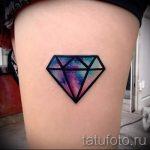 тату космос - фото готовой татуировки 34078 tatufoto.ru