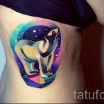 тату космос - фото готовой татуировки 40084 tatufoto.ru