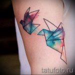 tatu-lebed-origami-foto-primer-gotovoj-tatuirovki-5122-tatufoto-ru