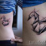 tatu-lebed-origami-foto-primer-gotovoj-tatuirovki-7124-tatufoto-ru