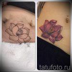 тату на аппендиците - фото пример готовой татуировки 01092016 3010 tatufoto.ru