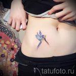 тату на шраме от аппендицита - фото пример готовой татуировки 01092016 5021 tatufoto.ru