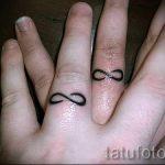 тату обручальные кольца фото - варианты татуировок вместо обручальных колец 21
