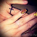 тату обручальные кольца фото - варианты татуировок вместо обручальных колец 21111