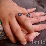 тату обручальные кольца фото - варианты татуировок вместо обручальных колец