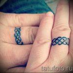 тату обручальные кольца фото - варианты татуировок вместо обручальных колец 77