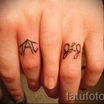 тату обручальные кольца фото - варианты татуировок вместо обручальных колец 83
