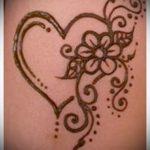 тату хной простые рисунки - фото готовой татуировки 02092016 5436 tatufoto.ru