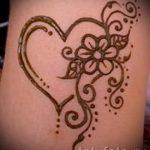 тату хной простые рисунки - фото готовой татуировки 02092016 8439 tatufoto.ru