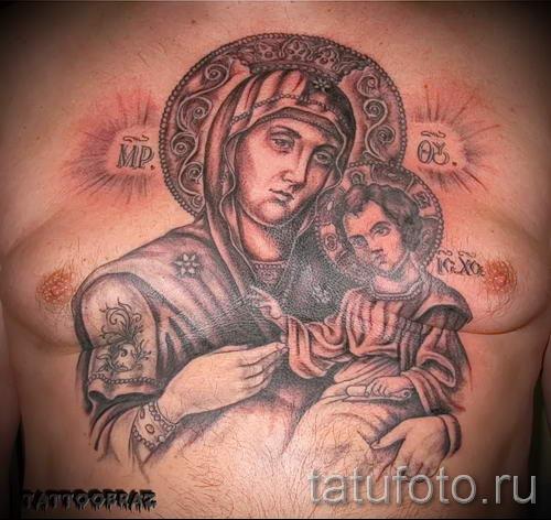Бога матери тату фото