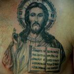 Фото тату иконы - заповеди