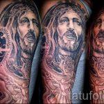 Икона - Иисус - фото тату