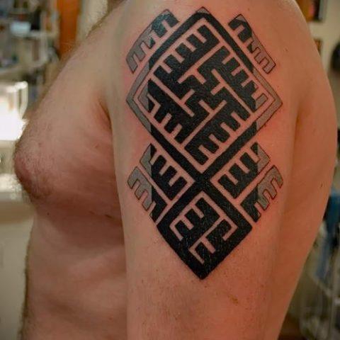 Тату руны - рунические татуировки и их значение