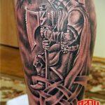 фото тату свастики славянские обереги - фото готовой татуировки от 02092016 7057 tatufoto.ru