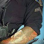 Английские полицейские добиваются отмены запрета тату на открытых участках тела - фото 2