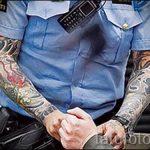 Английские полицейские добиваются отмены запрета тату на открытых участках тела - фото 6
