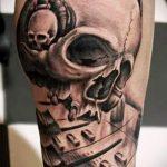 Skull tattoo Bilder - Tattoo Glück Wert 1020 tatufoto.ru