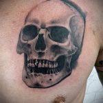 Skull tattoo Bilder - Tattoo Glück Wert 2021 tatufoto.ru