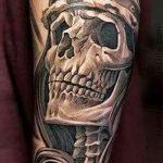 Skull tattoo images - valeur de la chance de tatouage 1023 tatufoto.ru