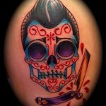 Skull tattoo images - valeur de la chance de tatouage 3025 tatufoto.ru