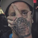 Skull tattoo images - valeur de la chance de tatouage 4026 tatufoto.ru