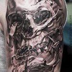 Skull tattoo pictures - tattoo luck value 1027 tatufoto.ru