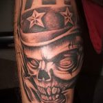 Skull tattoo pictures - tattoo luck value 3029 tatufoto.ru