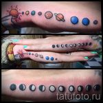 Tattoo-Stil Raum - ein Foto des fertigen Tätowierung 1037 tatufoto.ru
