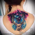 espace tatouage style - une photo du tatouage fini 2007 tatufoto.ru