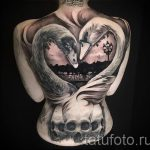 tatouage-deux-cygnes-photo-un-exemple-du-tatouage-fini-1020-tatufoto-ru
