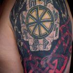 tatouages croix gammée slaves - photos du tatouage fini sur 02092016 1019 tatufoto.ru