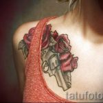 tattoo gun for girls - a photo of the finished tattoo 01092016 1041 tatufoto.ru