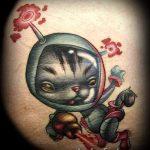 tattoo space - photos of the finished tattoo 3027 tatufoto.ru