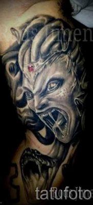 Медуза Горгона тату – фото пример для статьи про значение татуировки 51
