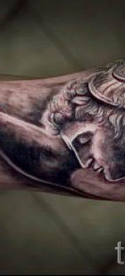 Медуза Горгона тату – фото пример для статьи про значение татуировки 57