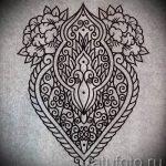 Примеры эскизов для тату узоров - картинка - tatufoto.ru - 1