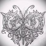 Примеры эскизов для тату узоров - картинка - tatufoto.ru - 2