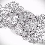 Примеры эскизов для тату узоров - картинка - tatufoto.ru - 21