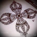 Примеры эскизов для тату узоров - картинка - tatufoto.ru - 36