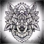 Примеры эскизов для тату узоров - картинка - tatufoto.ru - 37