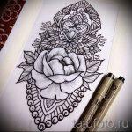Примеры эскизов для тату узоров - картинка - tatufoto.ru - 39
